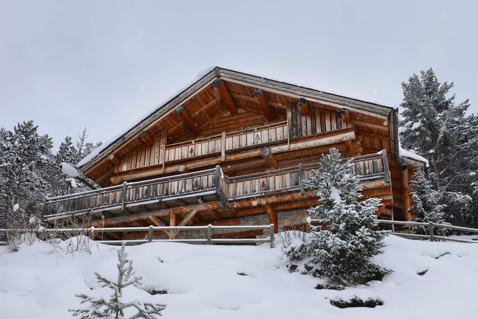 100 chalet fuste prix chalets en bois en kit chalet for Prix construction chalet bois montagne
