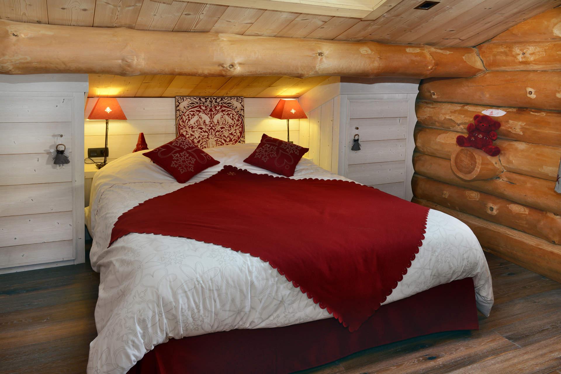 Chambre Style Chalet De Montagne - deco chambre chalet montagne ...