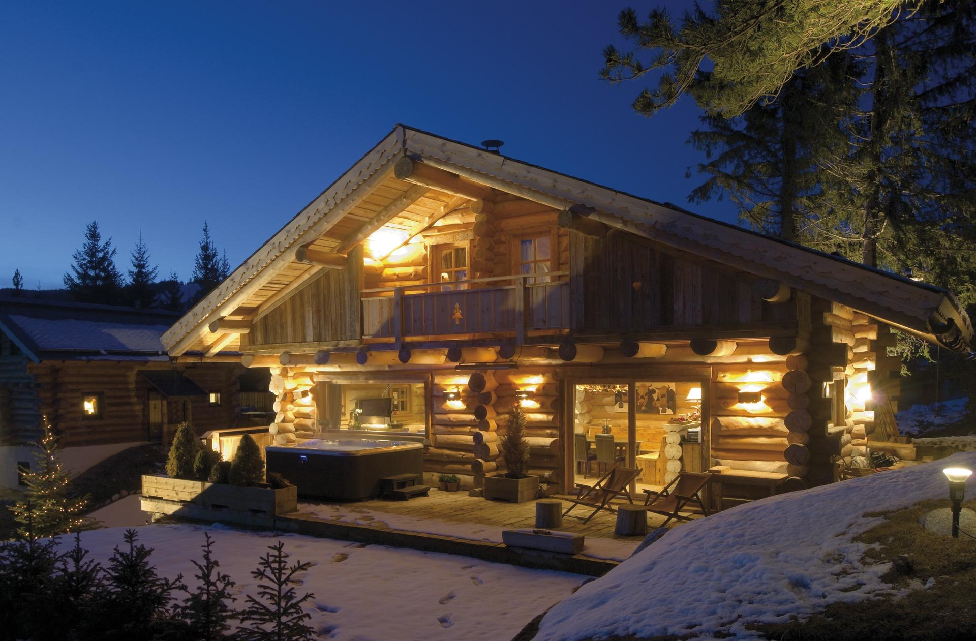 Chalet De Montagne En Bois - Chalets Nordika constructeur bois,à Bolqu u00e8re, Pyrénées 2000, Font Romeu, Les Angles Vente de