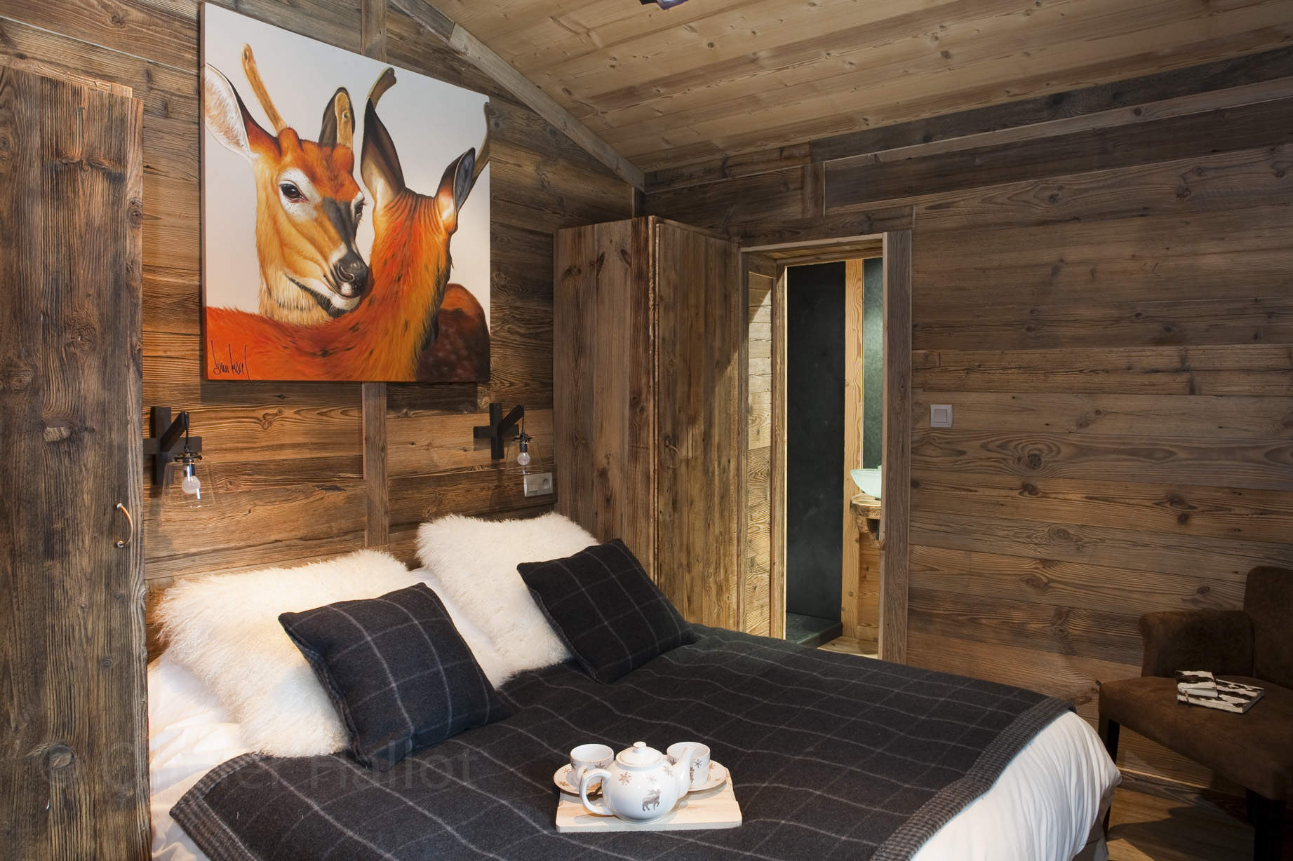 Interieur De Chalet En Bois - Fashion Designs